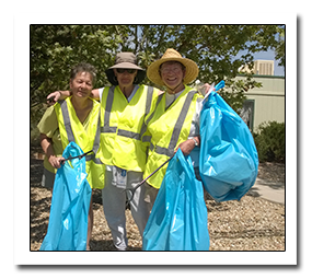 2014 Litter Campaign Crew.  Thanks!
